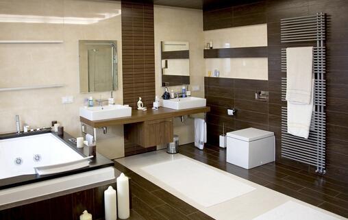 扮靓你家的卫浴空间 浴室柜选择材质是关键