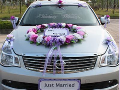 婚车如何扎花以及注意事项