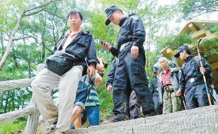 7名被困驴友昨获救 长安柞水200多警民搜救