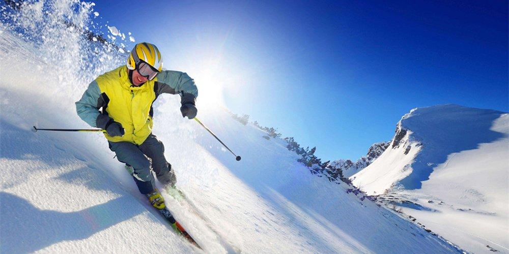 这个地方滑雪超爽!别挑了