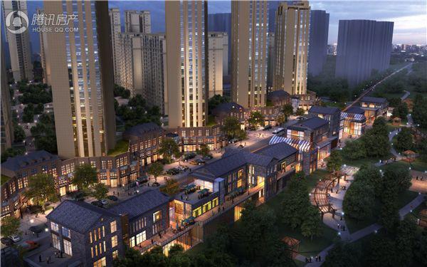 漢江首府精装宽景房源加推 中庭园林景观完美呈现