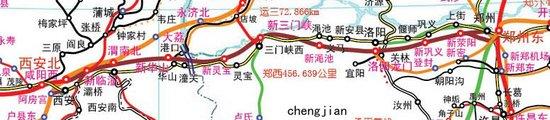 明年实行新运行图 郑西高铁增开13对动车组