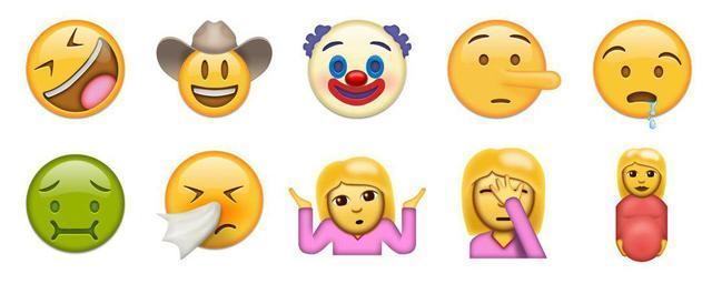 emoji再添新表情 想斗图先得升级到ios 10图片