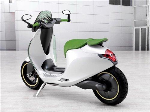 汽车的配置 smart电动单车将于2014年销售