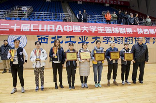 西安思源学院女篮夺陕西省大学生篮球联赛甲组冠军