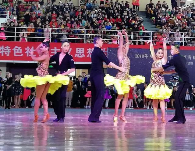 陕西省第十届体育舞蹈公开赛举行