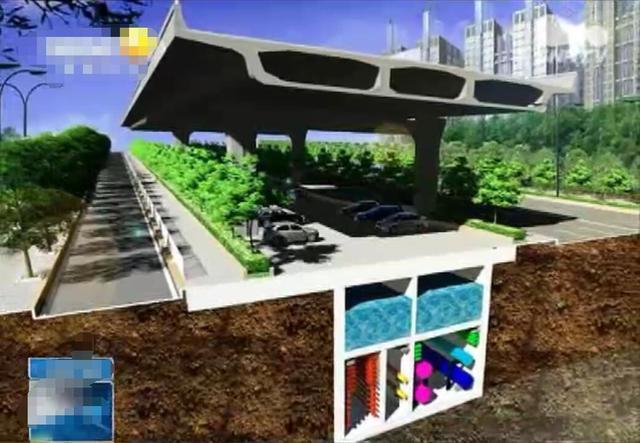 综合廊_西安昆明路综合管廊靓照曝光 分为上中下三层