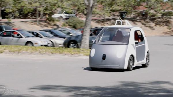 谷歌智能无人驾驶汽车高清图片