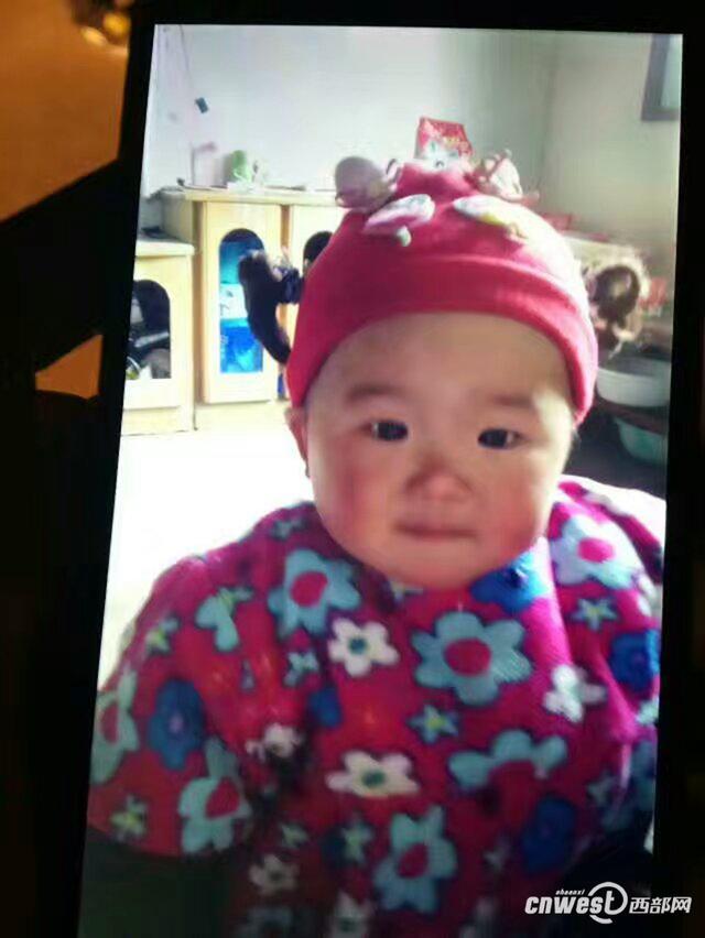 汉中年仅1岁半小女孩在家中被不明身份男子抱走