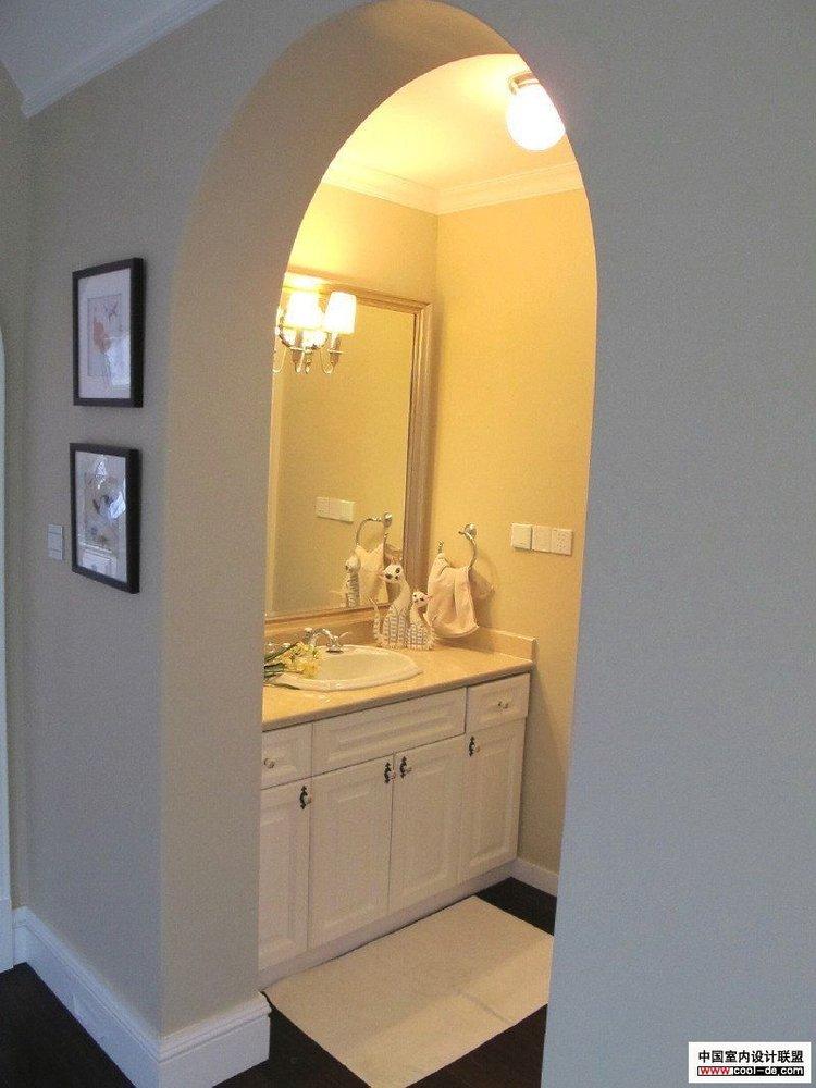 历时10个月装修的美式新古典风格独栋别墅高清图片
