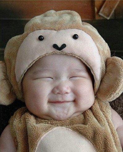 六一happy 可爱胖宝宝的搞笑表情