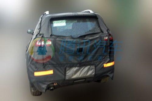 jeep自由光国内曝光 明年国产高清图片