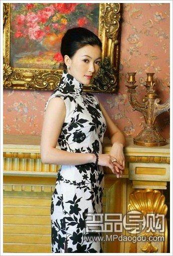 绝美旗袍打造优雅新娘图片