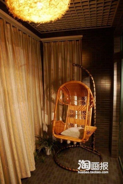 暗色飘逸纱幔+圆床14万装卧室调简约奢华家卖店的是情趣用品什么图片