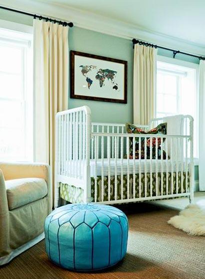 眼前一亮,那些美腻的婴儿房风格