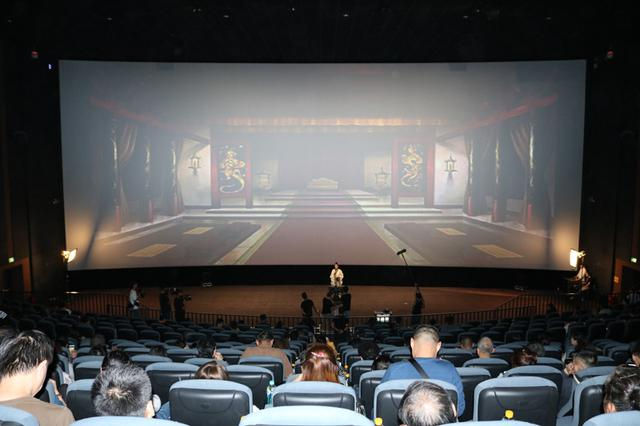太平洋影城带领700位观众穿越三国 触发观影新体验