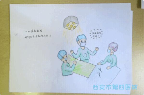 """西安出了名护士""""艺术家"""" 快来围观看一看"""