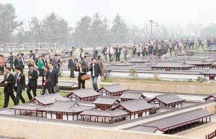 大明宫国家遗址公园开园 改变西安生态格局