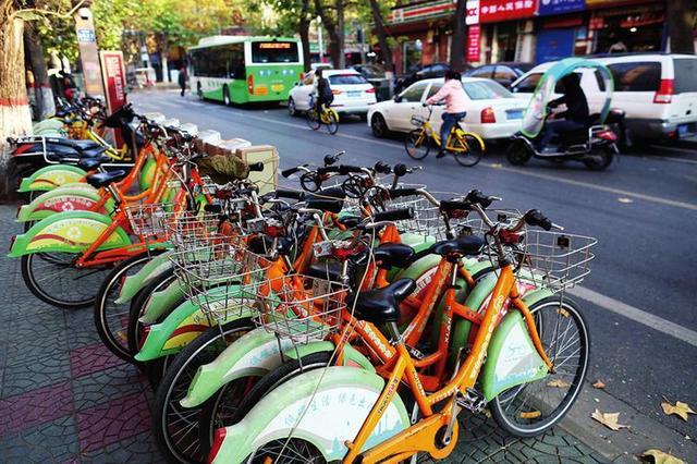 明年西安公共自行车升级 将使用无桩存车技术