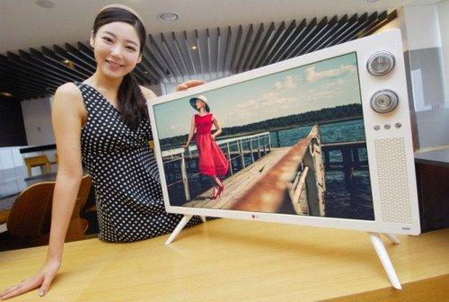 经典怀旧 LG推32寸复古造型液晶电视