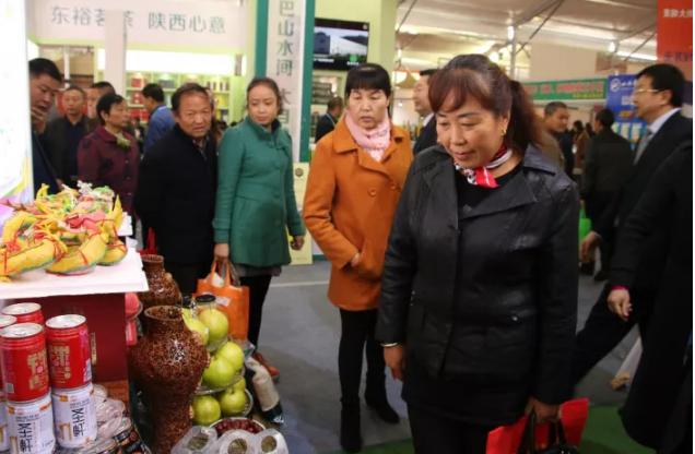 """黄陵43种农产品""""亮相""""农高会 计划引资4.58亿"""