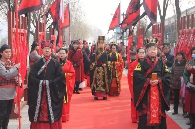 汉城湖祭天祈福喜迎新春