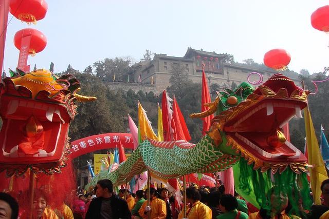 逛药王山庙会 享国家级非物质文化遗产