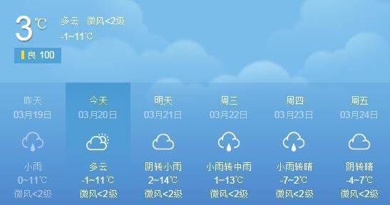 昨日起至22日 榆林将有新一轮雨雪天气