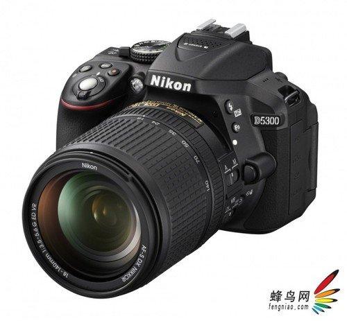 加入Wi-Fi和GPS 尼康发布D5300单反相机