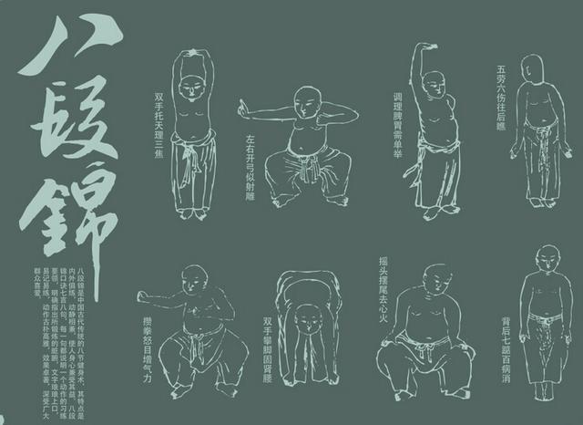 常练中医养生气功八段锦 让您拥有好身体