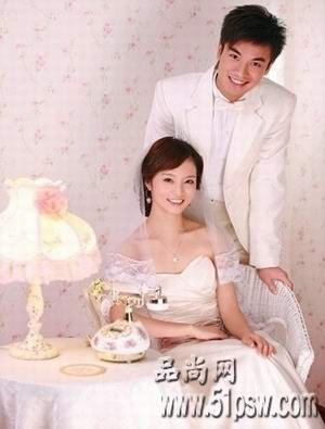 用PS处理婚纱照片的技巧