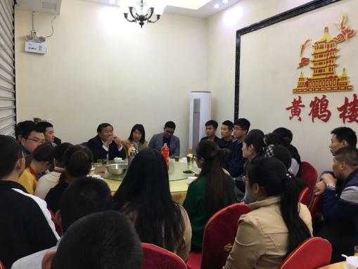 华山教育集团董事长新年之际看望在厦门实践的师生