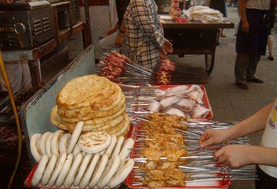 世园会美食攻略—垂涎欲滴的西安回民街小吃
