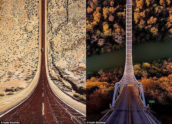 强迫症福音!细数美国那些对称的道路