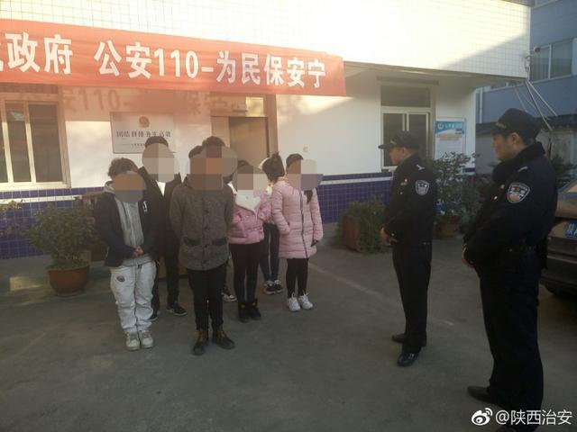 汉中民警巡查时发现传销窝点 解救误入传销人员