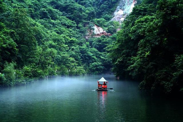 商南金丝峡