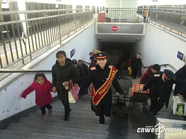 绥德火车站春运新增5趟临客 预计发送旅客14万人次