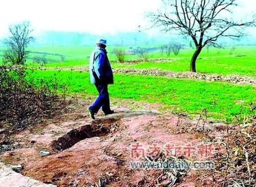 秦始皇祖坟被盗挖现30多米深盗洞 数人被捕