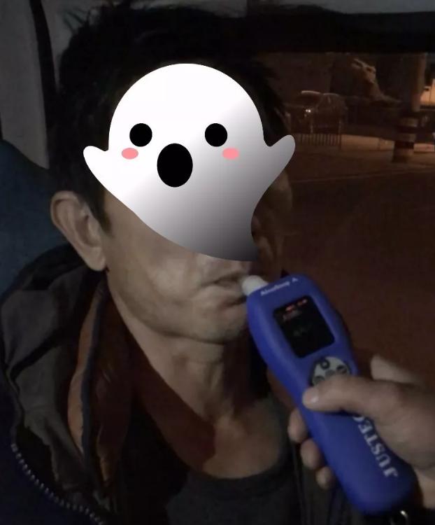 志丹交警查获2018年首例酒驾 暂扣驾驶证六月罚款1千