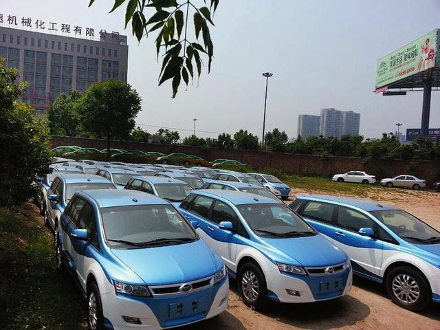西安新增500辆电动出租车 无污染比加气车省钱