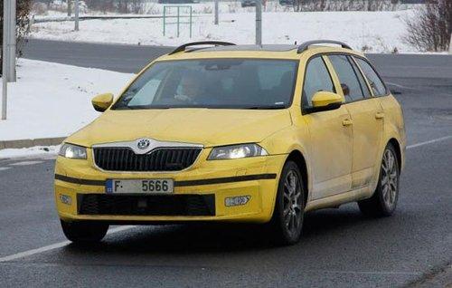 曝光 明锐 rs/同上一代车型一样,新一代明锐RS除了轿车版同样提供旅行车版本
