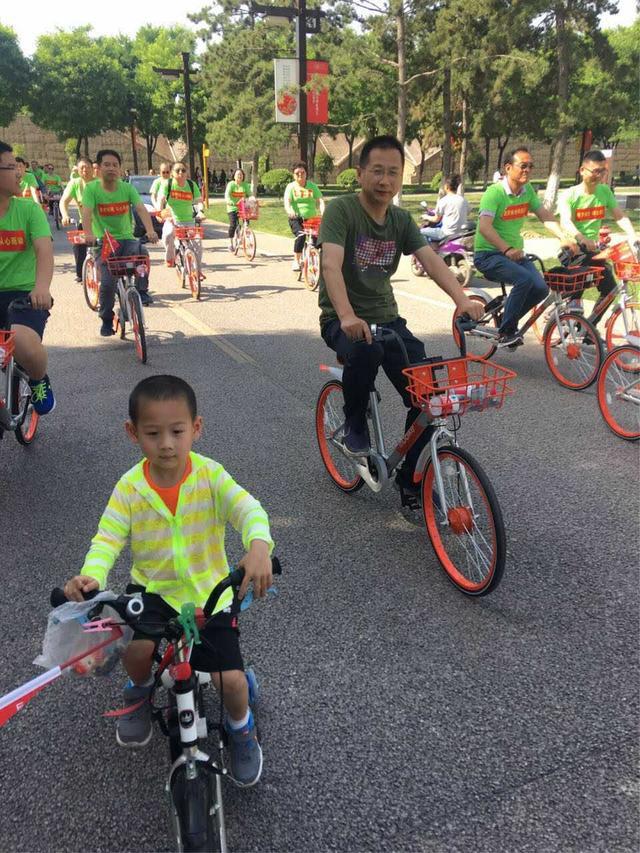 低碳出行 九三学社发起绿色骑行公益宣传活动