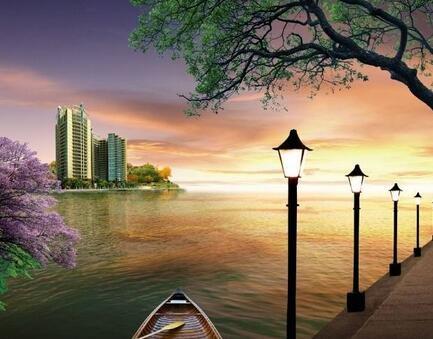 栖湖而居美景如画 湘潭这些楼盘让你享受湖景生活