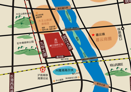 湘江国际公馆:墅享人生 圈层人士的身份名片