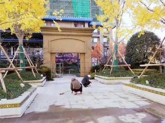 襄阳恒大御府12月最新工程进度