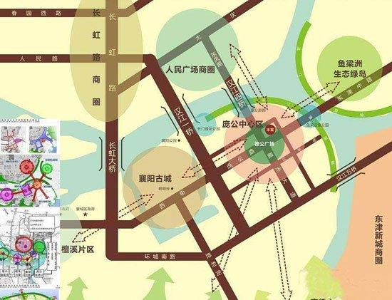 襄城区领导调研庞南片区征迁进展情况