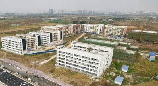 襄阳三中东津新校区,今年将确保建成并投入使用