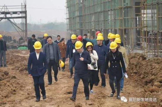 襄州区委书记杨兴铭莅临襄阳新发地调研
