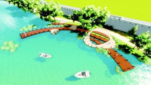 襄阳公园动工改造建成文化休闲区