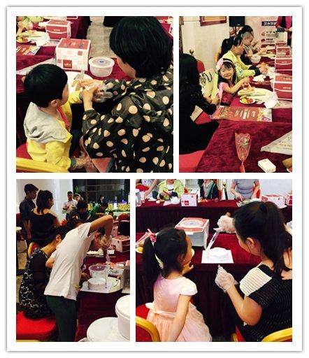 感恩母亲节 汉水华城创意蛋糕diy温情上演